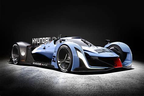 hyundai supercar concept hyundai n 2025 vision gran turismo at frankfurt 2015 by