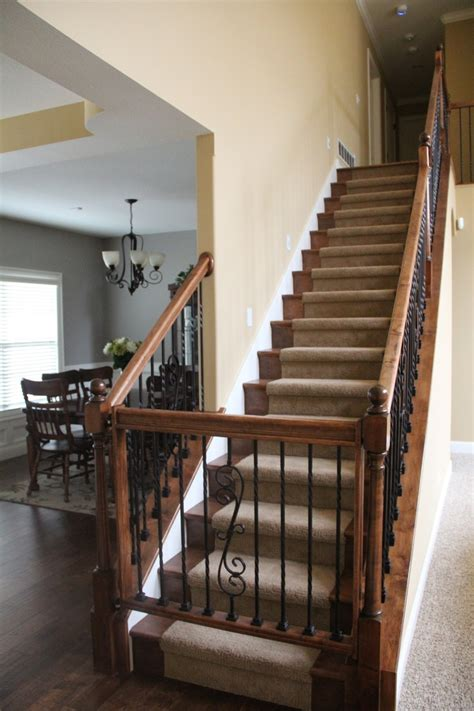 Wooden Baby Gates For Stairs With Banisters by Custom Wood Baby Gate For Upstairs Completed House