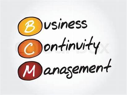 Continuity Management Bcm Acronym Concept Dizanna Colourbox