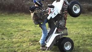 Some Wheelies On The Warrior 350