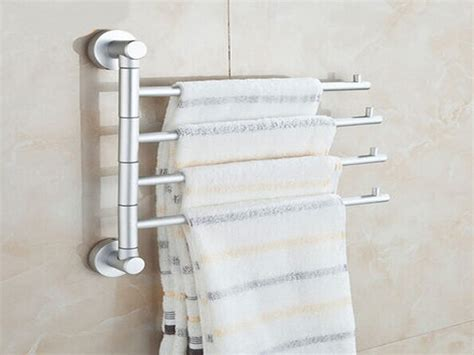 Towel Rack Ideas For Small Bathrooms by Bathroom Towel Rack Wall Mounted Towel Racks For