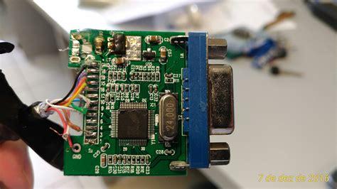 Wire Colors Board Hdmi Vga Adapter Raspberry