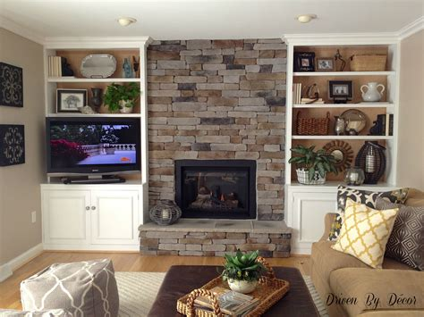 Living Room With Fireplace And Bookshelves by Built In Bookshelf Living Room Basement Ideas