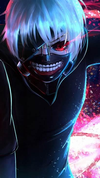 Ghoul Tokyo Anime Eye Wallpapers Mobile 4k
