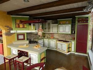 Emejing Cucine In Muratura Colorate Pictures Ideas Design 2017 ...