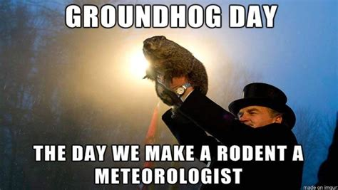 Groundhog Day Memes - groundhog day 2017 all the memes you need to see heavy com