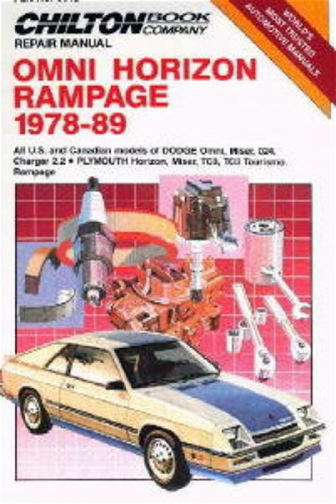 chilton car manuals free download 1992 dodge spirit transmission control chilton 1978 1989 dodge omni horizon rage repair manual