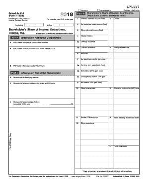 irs schedule k 1 1120 s form pdffiller