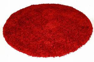tapis rond rouge spectrum trendcarpetfr With tapis rouge rond