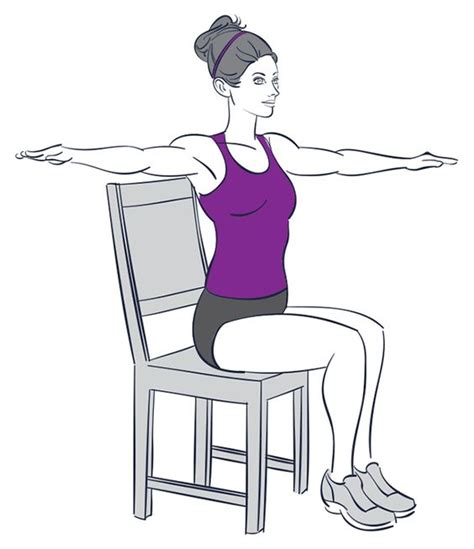 9 exercises you can do while sitting chairs
