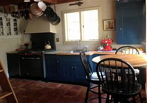 after kitchen cabinet make over with farrow ball hague With kitchen colors with white cabinets with ball candle holders