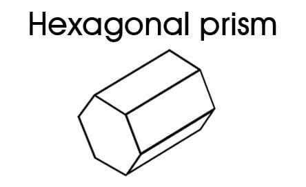 shapes  kids hexagonal prism kidspot