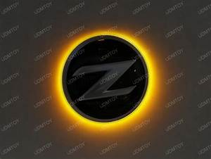 Nissan Z Illuminating Emblem Z4 Style Led Ring Install