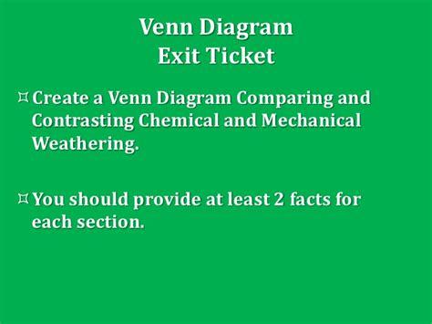 Venn Diagram Weathering Erosion Deposition