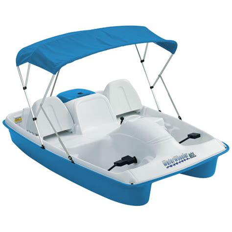 Sun Dolphin Paddle Boat With Canopy by Sun Dolphin Waterwheeler Asl Pedal Boat With Canopy West