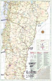 Official Vermont Road Map
