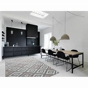 Salon Gris Et Rose : koton tapis de salon scandinave tavla rose pastel gris ~ Melissatoandfro.com Idées de Décoration