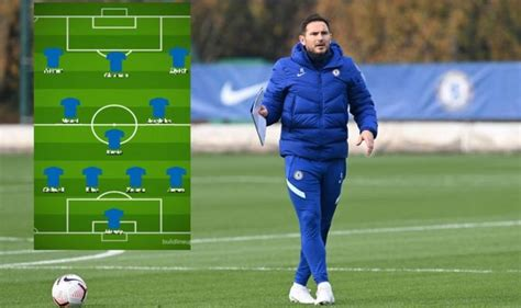 Chelsea team news: Expected 4-3-3 for Sheffield United ...