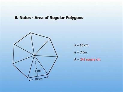 Area Polygon Regular Formula Pentagon Polygons Geometry