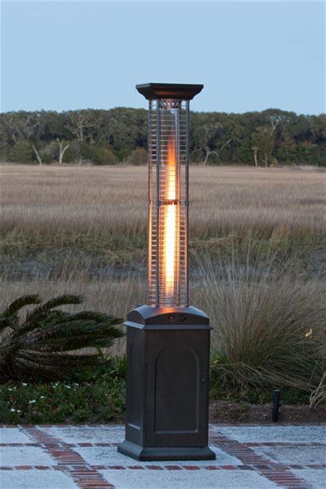 sense square propane gas patio heater with