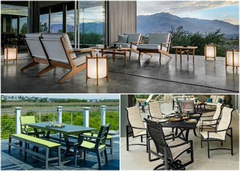 patio furniture trends 2017 part 2 entertaining design