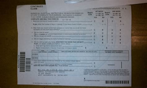 how to fill out a california unemployment claim form flickr
