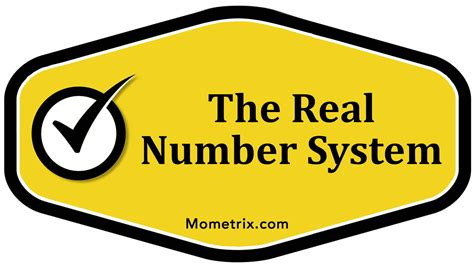 The Real Number System Youtube
