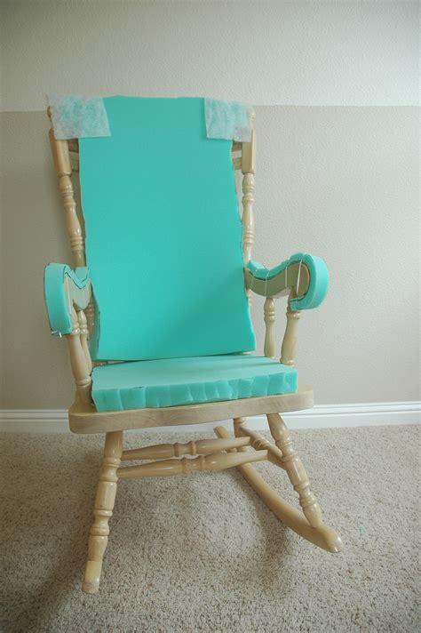 adding comfort   wooden rocking chair part