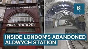 Inside Aldwych  London U0026 39 S Abandoned Underground Station