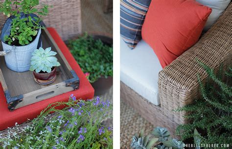 Back Porch Makeover with AE Outdoor THE BLISSFUL BEE
