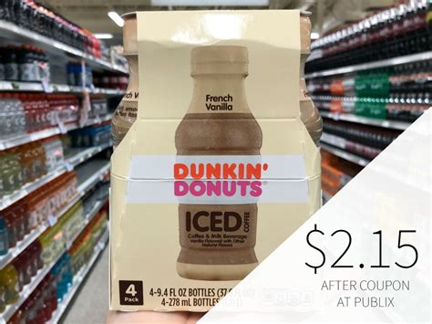 It was founded by william rosenberg in quincy, massachusetts, in 1950. Dunkin' Donuts Iced Coffee 4-Pack Just $2.15 At Publix (54¢ Per Bottle!)