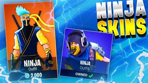 *new Secret* Ninja Skins In Fortnite!