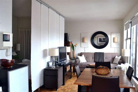 studio apartment room divider 450 ft2 nyc studio ikea kvartal hanging room divider 5912