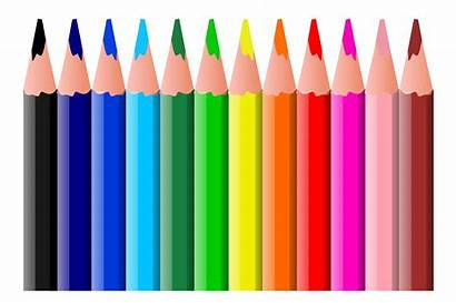 Pencils Clipart Colored Pencil Coloured Clipartpanda Crayola