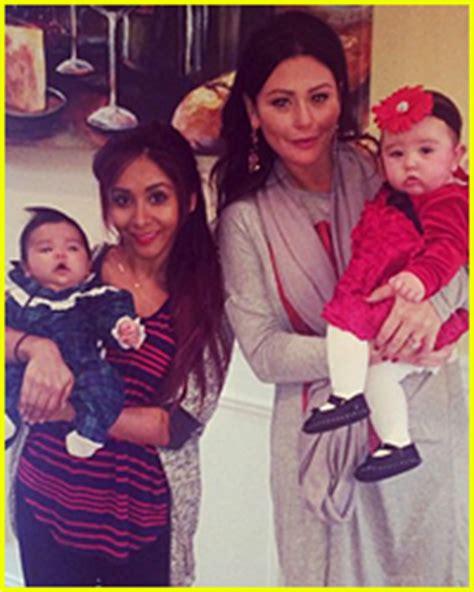 snooki family pictures snooki jwoww share their cute family christmas photos