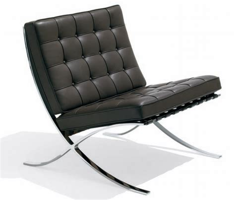 20th century chair design ludwig mies der rohe