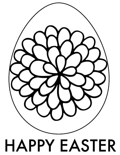 Coloring Easter Eggs by Easter Coloring Pages Free Printable Downloads