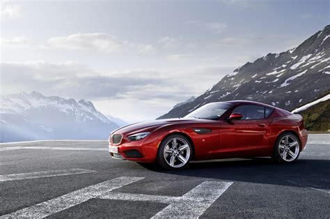 Bmw Zagato Coupe Is Truly An Ultimate Machine Carguideblog