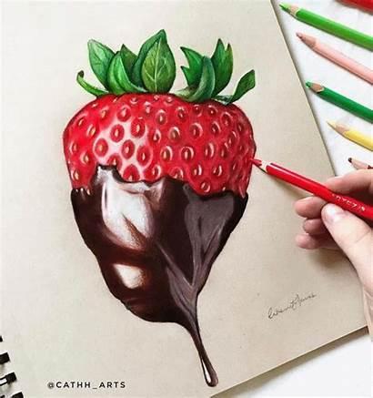 Pencil Colored Drawing Pencils Drawings Arteza Realistic