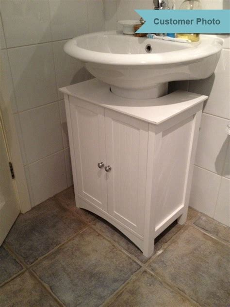 white  sink shaker style bathroom cabinet roman  home