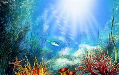Underwater Cartoon
