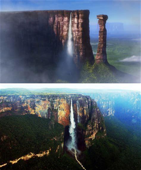 Angel Falls - Disney Animation Landmarks