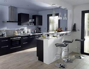 5 cuisines castorama a saisir rapidement deco cool for Decoration pour jardin exterieur 5 cuisine quartz noir