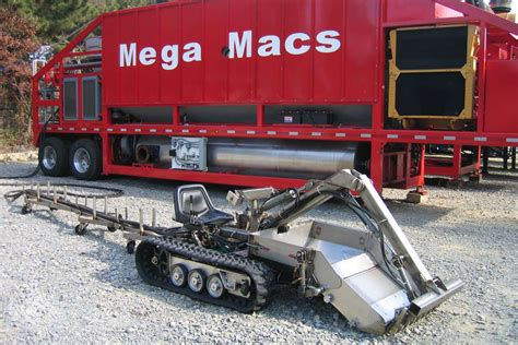 MegaMacs offers mobile sludge removal and processing