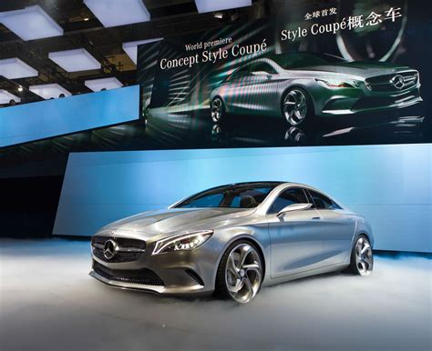 mercedes benz concept style coupe  cartype