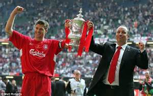 Steven Gerrard's story: From a wiry teenager to Liverpool ...