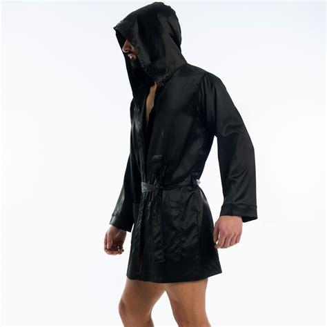 veste de chambre homme veste d 39 intérieur satin noir modus vivendi vente