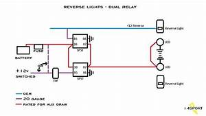Switchable Aux Reverse Lights