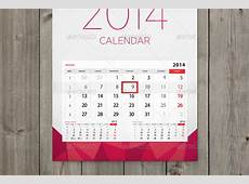Wall calendar mockup set by ejanas GraphicRiver