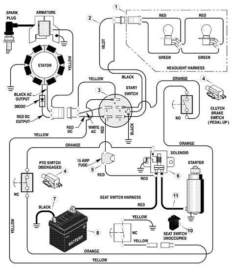 917 25751 ignition switch diagram mytractorforum com